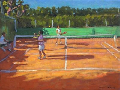 Tennis Practise , Cap d'Adge, France, 2013 by Andrew Macara