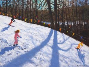 Three Valleys skiing ,2018 by Andrew Macara