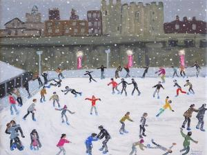 Tower of London Ice Rink, 2015 by Andrew Macara