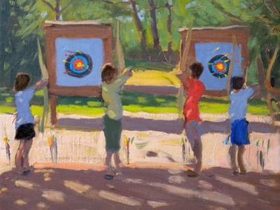 Young Archers, 2012 by Andrew Macara