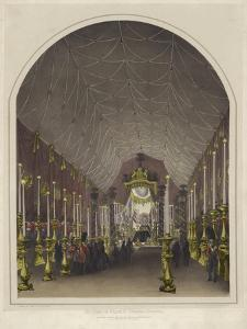 Funeral of the Duke of Wellington, the Lying in State at Chelsea Hospital by Andrew Maclure
