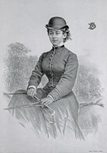 Lady Florence Dixie, Published 1877 by Andrew Maclure