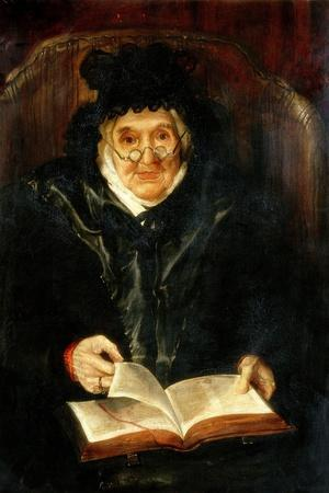 Portrait of an Old Lady, 1823