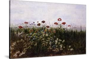 Flowers on the Irish Coast by Andrew Nicholl