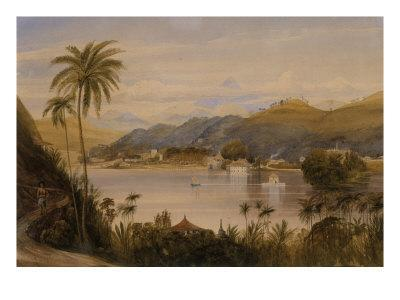 The Temple of the Tooth, Kandy, Ceylon, c.1852