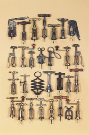 Vintage Corkscrews by Andrew Rose