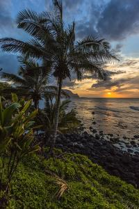 A Beautiful Sunset Princeville, Hi by Andrew Shoemaker