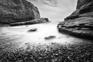 A Rocky Beach at Cabrillo National Monument by Andrew Shoemaker