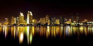San Diego's Skyline and Harbor by Andrew Shoemaker