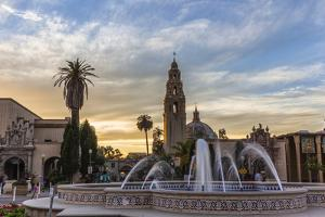 Sunset at Balboa Park in San Diego, Ca by Andrew Shoemaker