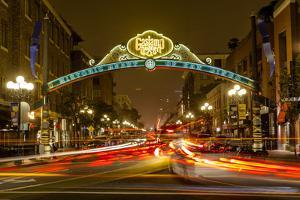 The Gaslamp Quarter in Downtown San Diego, Ca by Andrew Shoemaker