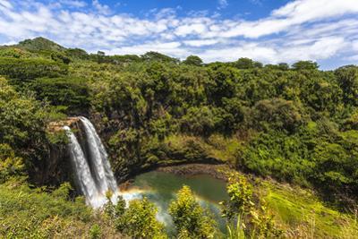 Wailua Falls and Scenery on the Hawaiian Island of Kauai by Andrew Shoemaker