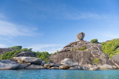 Rock Formations of Ko Similan Beach, Phuket Island, Phuket, Thailand, Southeast Asia, Asia