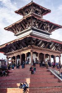 Maju Deval Temple, Durbar Square, UNESCO World Heritage Site, Kathmandu, Nepal, Asia by Andrew Taylor