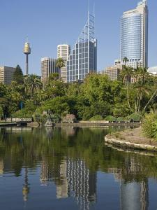 New South Wales, Sydney, the Green Surrounds of the Royal Botanic Gardens, Australia by Andrew Watson