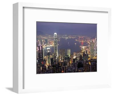 View over Hong Kong from Victoria Peak