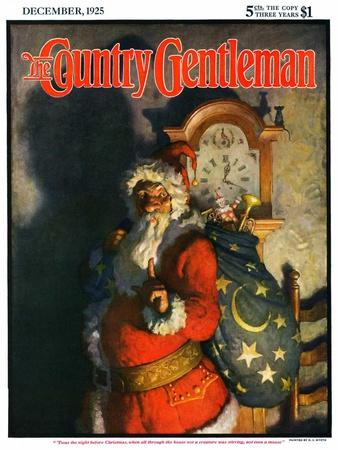 """'Twas the Night before Christmas,"" Country Gentleman Cover, December 1, 1925"