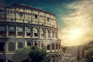 One of the Most Popular Travel Place in World - Roman Coliseum. by Andrey Yurlov