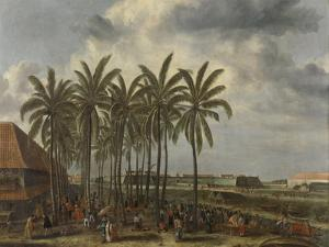 The Castle of Batavia, 1661 by Andries Beeckman