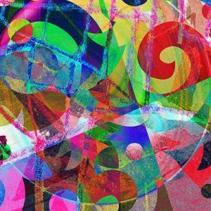 Abstract Background, Color Painted Graffiti by Andriy Zholudyev