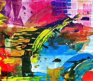 Abstract Painting by Andriy Zholudyev