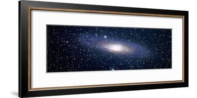 Andromeda Galaxy (Photo Illustration)--Framed Photographic Print
