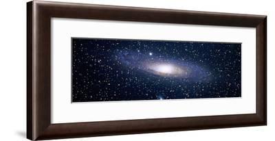 Andromeda Galaxy (Photo Illustration)--Framed Photographic Print