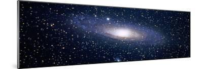 Andromeda Galaxy (Photo Illustration)--Mounted Photographic Print