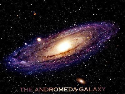 Andromeda Galaxy Print--Art Print