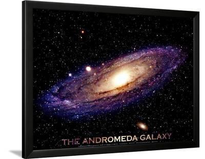 Andromeda Galaxy Print--Framed Art Print