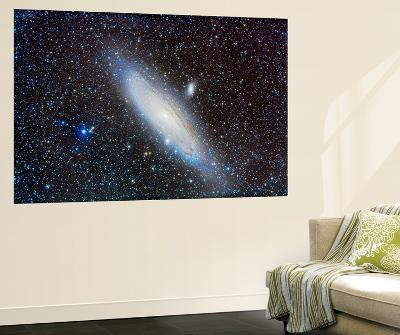 Andromeda Galaxy with Companions-Stocktrek Images-Wall Mural
