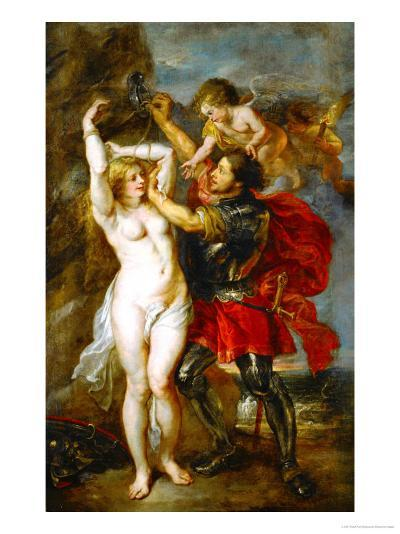 Andromeda Liberated by Perseus-Peter Paul Rubens-Giclee Print