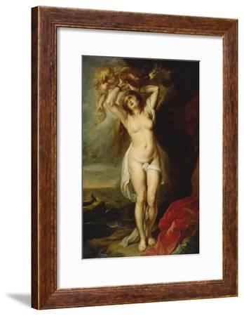 Andromeda-Peter Paul Rubens-Framed Art Print