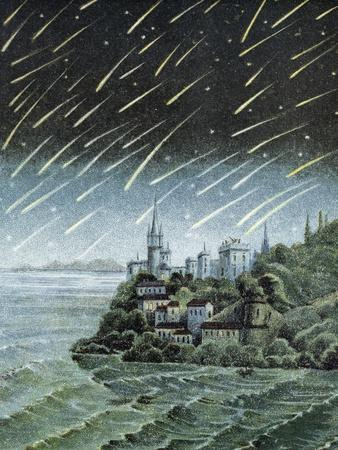 Andromedid Meteor Shower-Science, Industry and Business Library-Premium Photographic Print