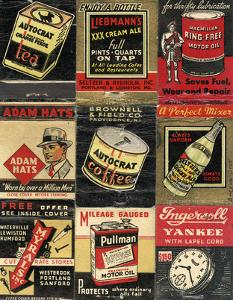 Matchbook - Adam Hats by Andy Burgess