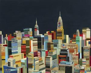 Midnight Over Manhattan by Andy Burgess