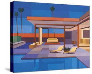 Modernist - Modern House II by Andy Burgess