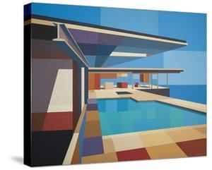 Modernist - Stahl House X by Andy Burgess