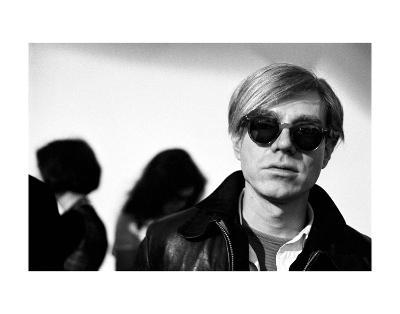Andy Warhol, 1966 (2)-Nat Finkelstein-Art Print