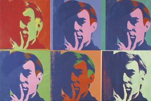 A Set of Six Self-Portraits, 1967 by Andy Warhol