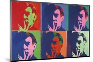 A Set of Six Self-Portraits, c.1967 by Andy Warhol