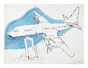 Airplane, C. 1959 by Andy Warhol