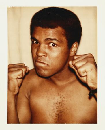 Ali, Muhammad, 1977 by Andy Warhol