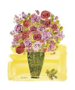 Basket of Flowers, c.1958 by Andy Warhol