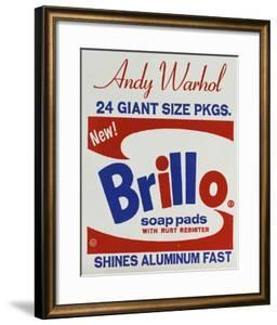 Brillo Box (detail), 1964 by Andy Warhol