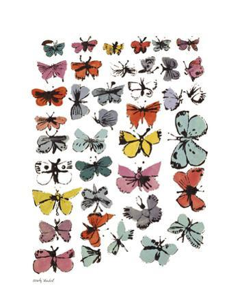 Butterflies, 1955 (Many/Varied Colors)