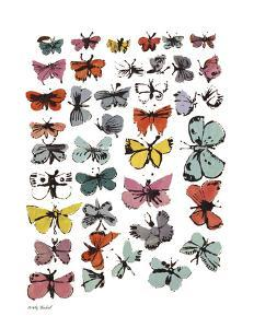 Butterflies, c.1955 by Andy Warhol