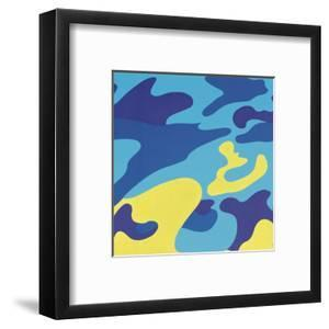Camouflage, 1987 (Blue, Yellow) by Andy Warhol