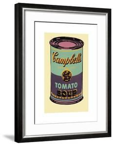 Campbell's Soup Can, 1965 (Green and Purple) by Andy Warhol