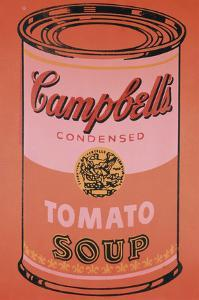 Campbell's Soup Can, c.1965 (Orange) by Andy Warhol